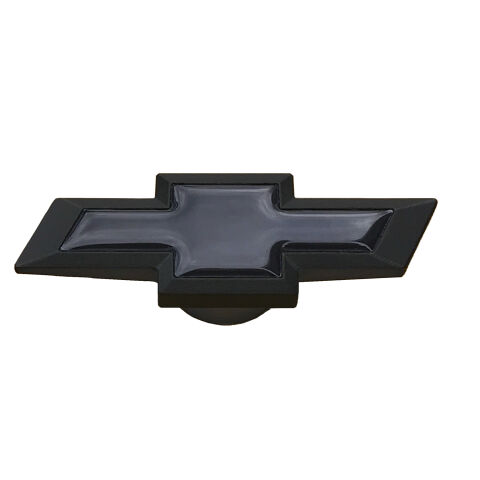 Extra-Large Air Cleaner Center Nut; Chevy Bowtie Style; Black Crinkle w/ Black