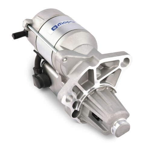 Mopar High-Torque Starter; 4.41:1 Reduction; Aluminum; Chrysler SB&BB V8 Engines