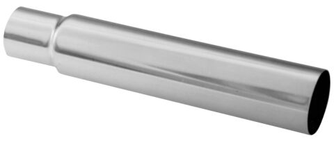 Engine Oil Filler Tube; Chrome; Steel Fits SB Chevy Engine Applications