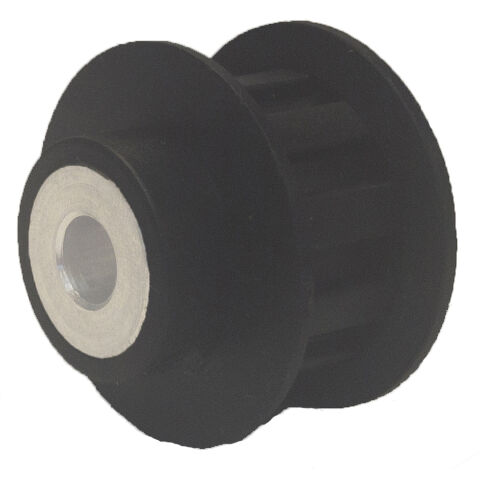 Electric Water Pump Pulley; For Use With Proform Pump Kits #66235; Black Plastic