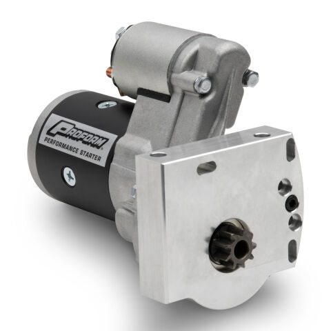 High-Torque Starter; 3.75:1 Gear Reduction; 1.4KW; 11:1 Ratio; Fits GM LS