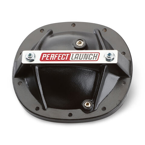 Differential Cover; 'Perfect Launch' Model; Fits GM 7.5; Aluminum; Black