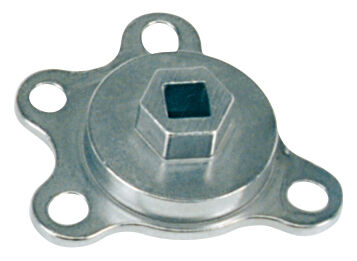 Engine Rotation Adapter Tool; Fits Chevy/Ford V8 Engines
