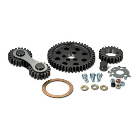 Engine Timing Gear Drive; Hi-Performance Under Cover Model; Fits SB Chevy Engine