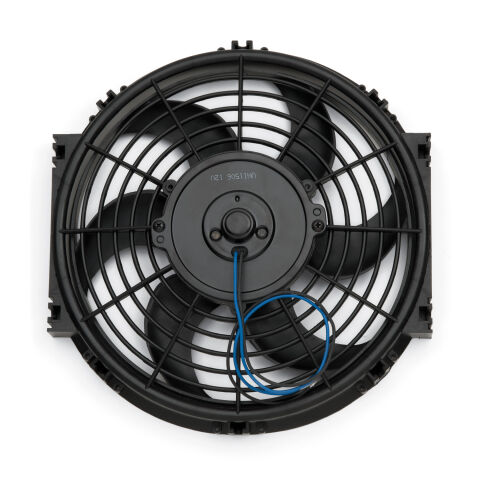 Electric Radiator Fan; Universal High Perf. S-Blade Model; 10 Inch; 1000CFM