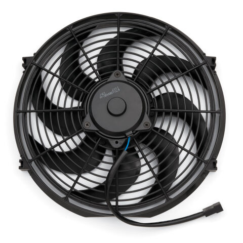 Electric Radiator Fan; Universal High Perf. S-Blade Model; 14 Inch; 1650CFM