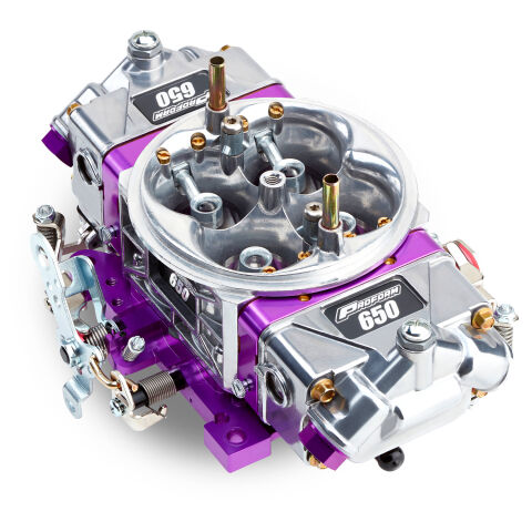 Engine Carburetor; Race Series Model; 650 CFM; Mechanical Secondaries