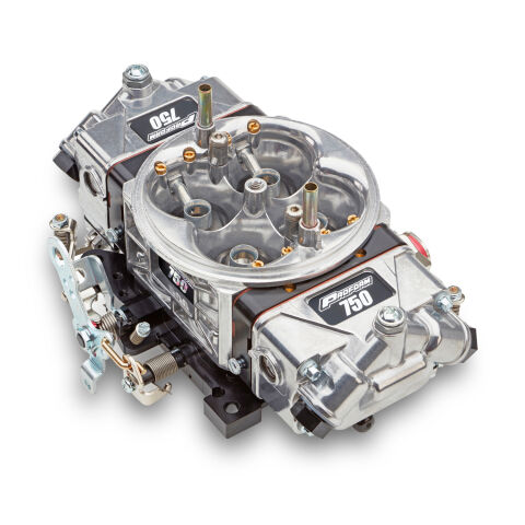 Engine Carburetor; Race Series Circle Track Model; 750 CFM; Mech. Secondaries