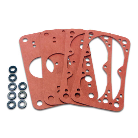 Carburetor Gaskets; 2-Fuel Bowl and 2-Metering Block Non-Stick Gaskets