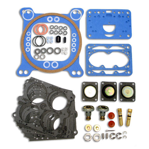 Engine Carburetor Rebuild Kit; For Holley 600-850 CFM Double-Pumper Carburetors