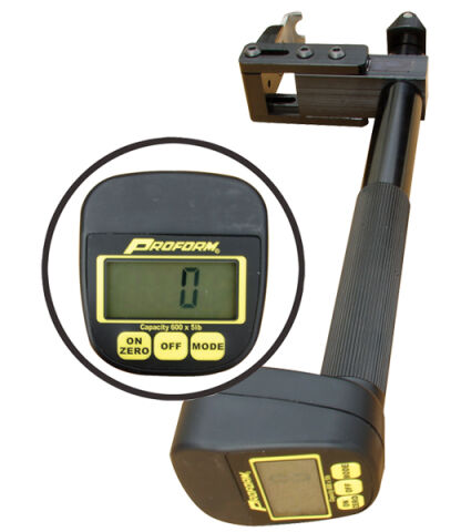 Digital Valve Spring Pressure Tester; Adjustable; 0-600LB Range; 5LB Increments