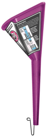 Funnel; Proform No-Mess Model; Purple; Patented Design; Sold Each
